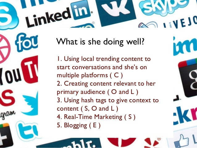 She's utilizing content that is trending, local and relevant to a Newfoundland audience