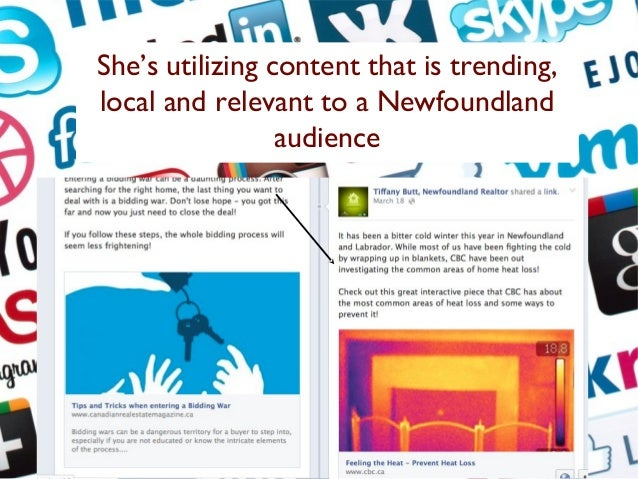 Her content appeals to her Facebook following. 80% of her users are woman aged 24-35.