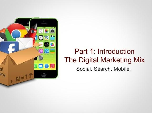 Part 1: Introduction: Social Media Social Media