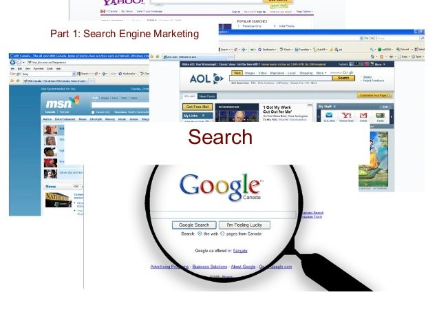 Types Of Search Part 1: Search Engine Marketing