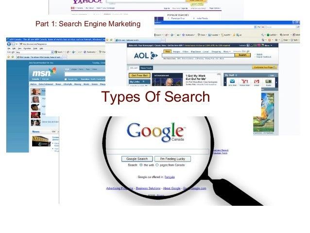 Organic Part 1: Search Engine Marketing