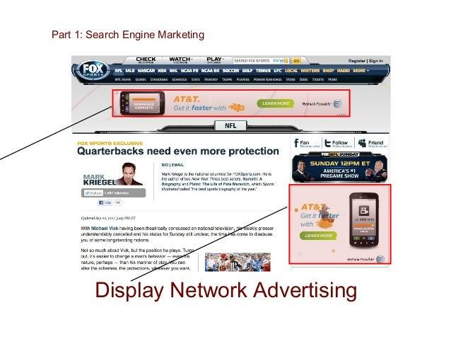 Part 1: Search Engine Marketing Google Adwords