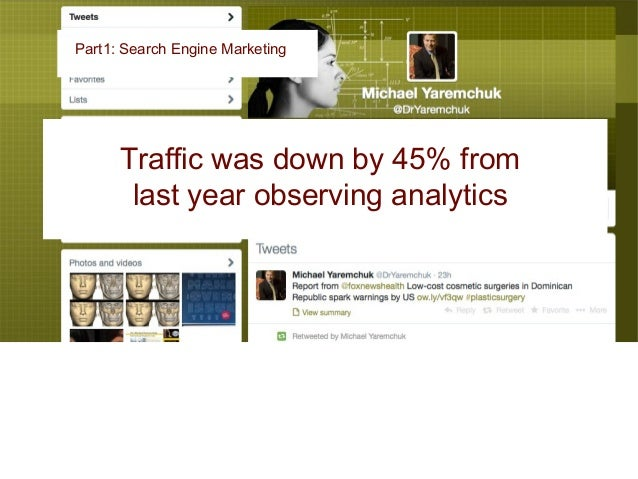 Why? Part 1: Search Engine Marketing