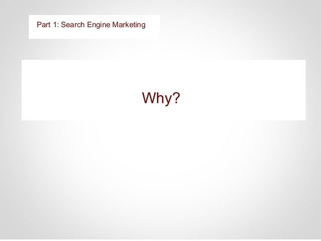 Competitors are developing more content than Dr. Y Part1: Search Engine Marketing