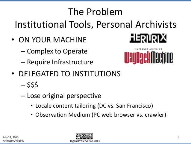 Digital Preservation 2013 Slide 2