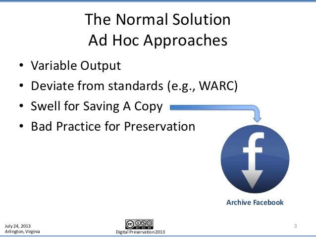 Digital Preservation 2013 Slide 3
