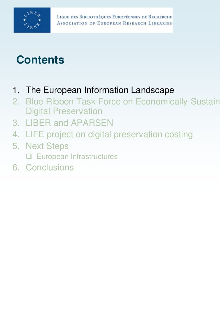 Digital preservation activity Slide 3