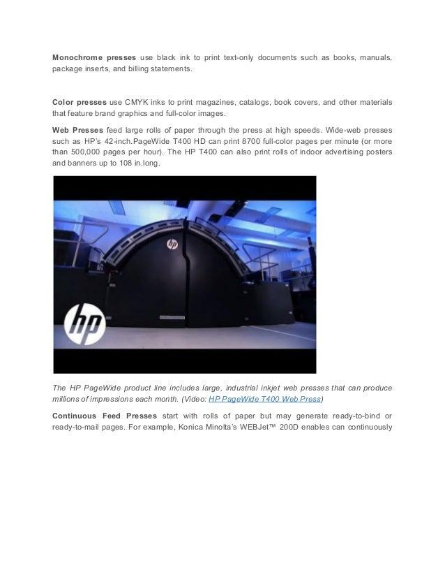 Digital press technology part 2 production inkjet printing