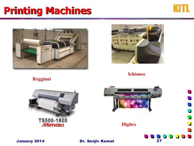 Printing MachinesPrinting Machines Reggiani Ichinose Digitex