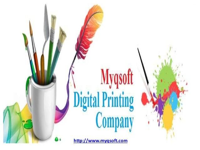 Digital Printing Services : Digital printing services