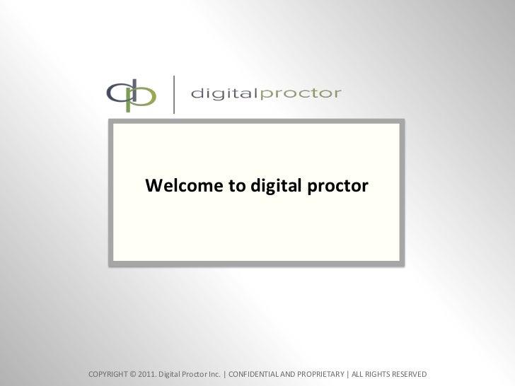 Welcome to digital proctor<br />0<br />