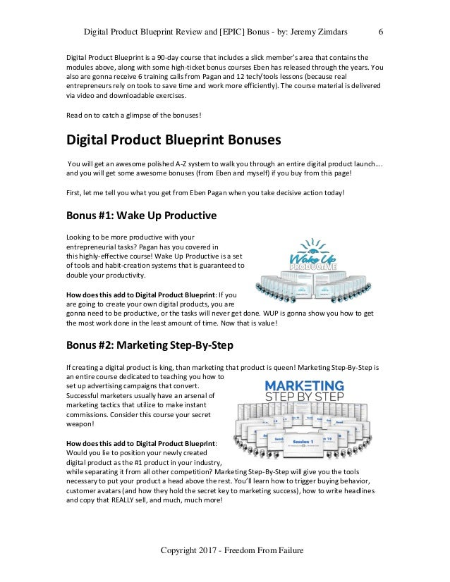 Digital product blueprint review and epic bonus digital product blueprint malvernweather