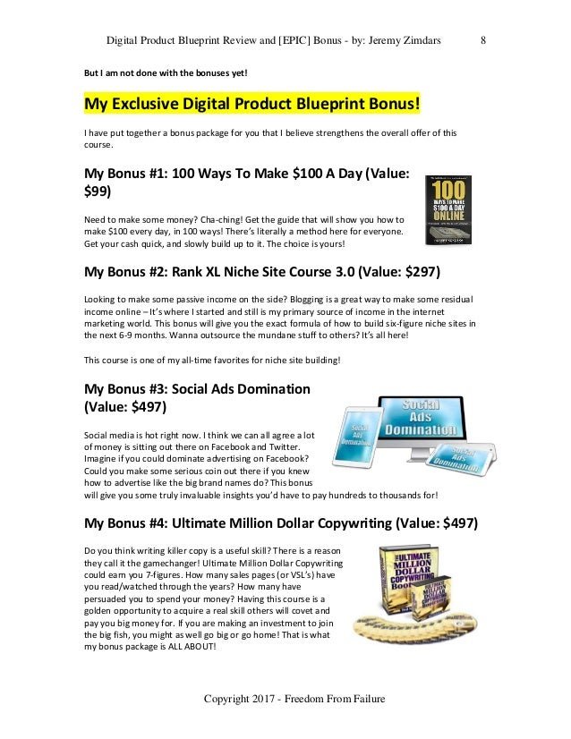 Digital product blueprint review and epic bonus digital product blueprint malvernweather Images