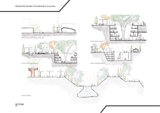 Underground designing of an Urban Space