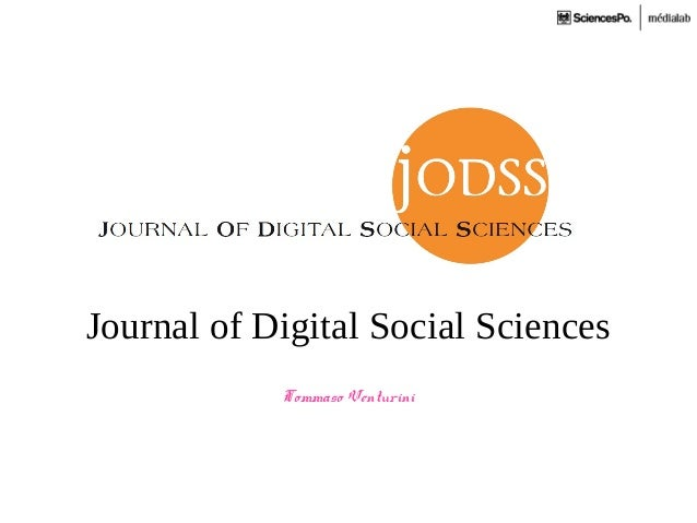 Journal of Digital Social SciencesTommaso Venturini