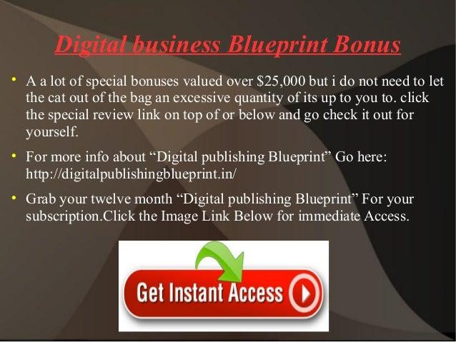 Digital publishing blueprint digital publishing blueprint review 10 digital business blueprint malvernweather Choice Image