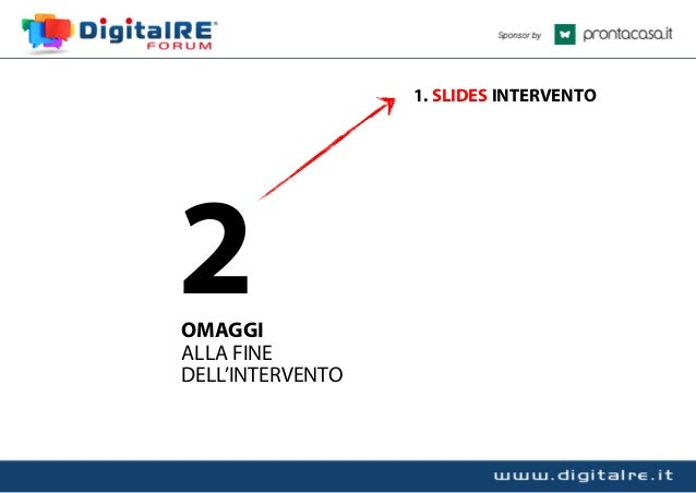 Come Progettare un Sito Immobiliare Efficace - Digital Re 2013 Slide 3