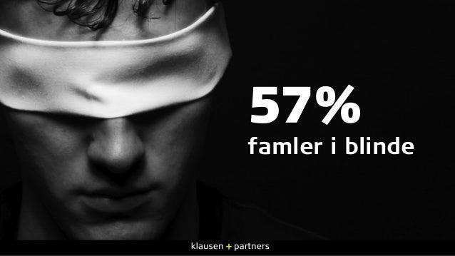 57% famler i blinde