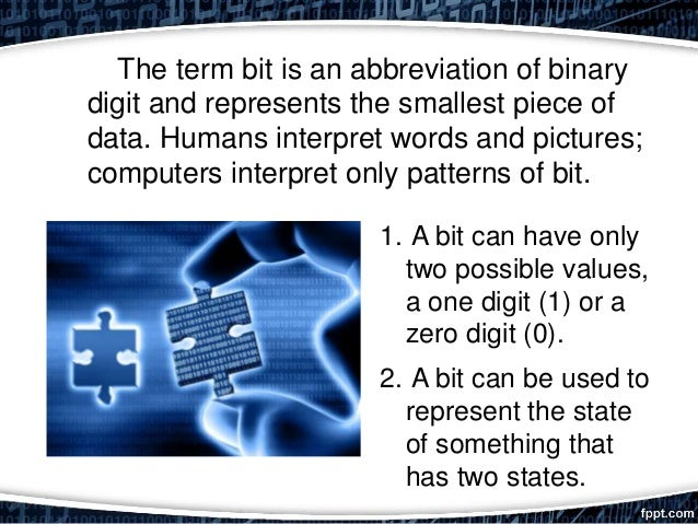 Digital representation Slide 2