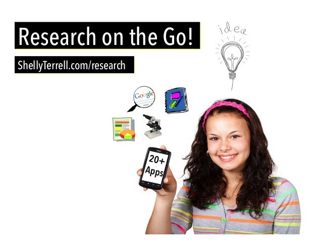 ShellyTerrell.com/research Research on the Go!