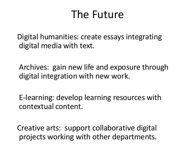 exploring the digital age essay Exploring the aspects of digital divide in a developing country the age di- vide and the income permission to make digital or paper copy of part or all of these.