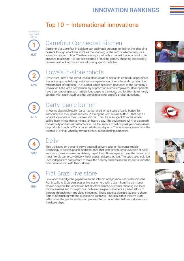 21 top 10 international innovations innovation rankings carrefour connected kitchen - Kcheninnovationen 2015