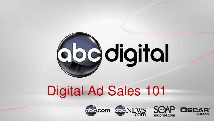 Digital Ad Sales 101<br />