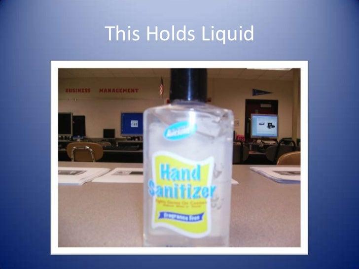 This Holds Liquid