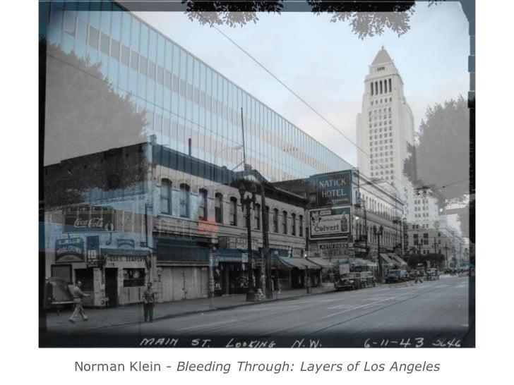 Norman Klein - Bleeding Through: Layers of Los Angeles