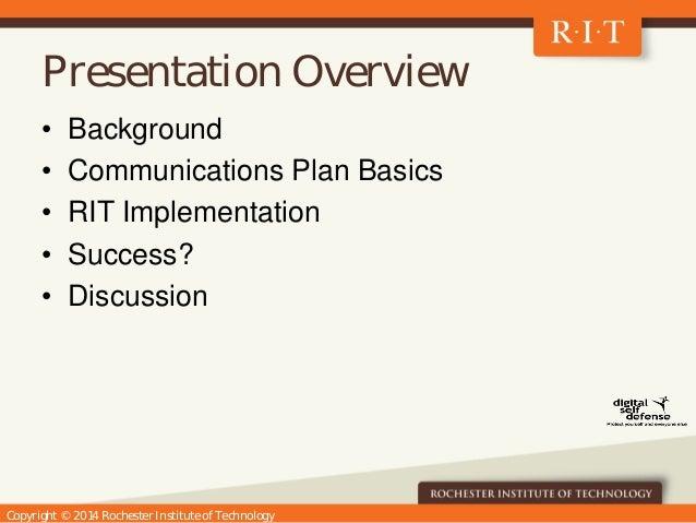 Digital Self Defense at RIT Slide 2