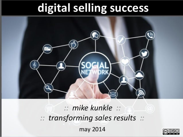 selling through digital channels: is it right for you? to what degree? The right answer is always about your customer find...