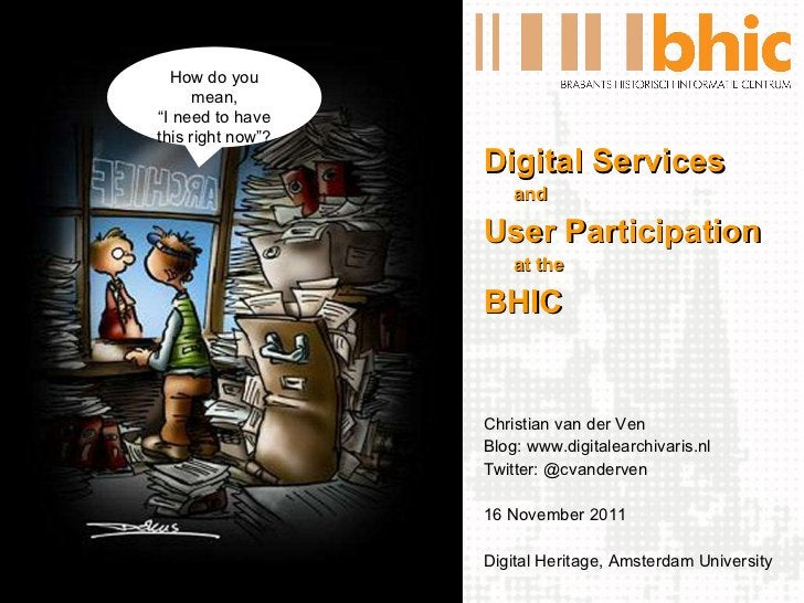 <ul><li>Digital Services </li></ul><ul><li>and </li></ul><ul><li>User Participation </li></ul><ul><li>at the </li></ul><ul...