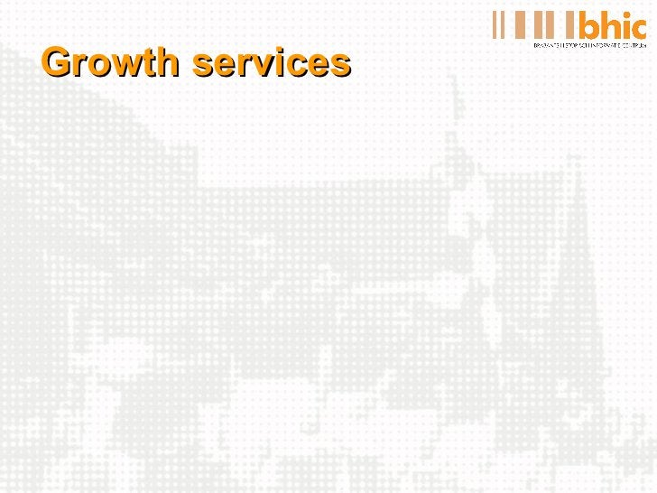 Growth services