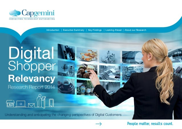 Introduction | Executive Summary | Key Findings | Looking Ahead | About our Research  Digital  Shopper  Relevancy  Researc...