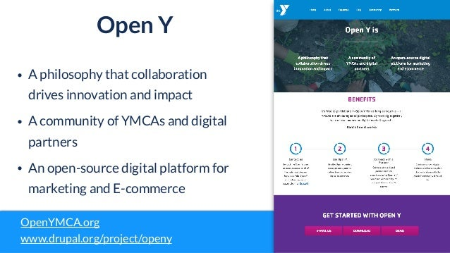 Digital Signage for YMCA and the Drupal role