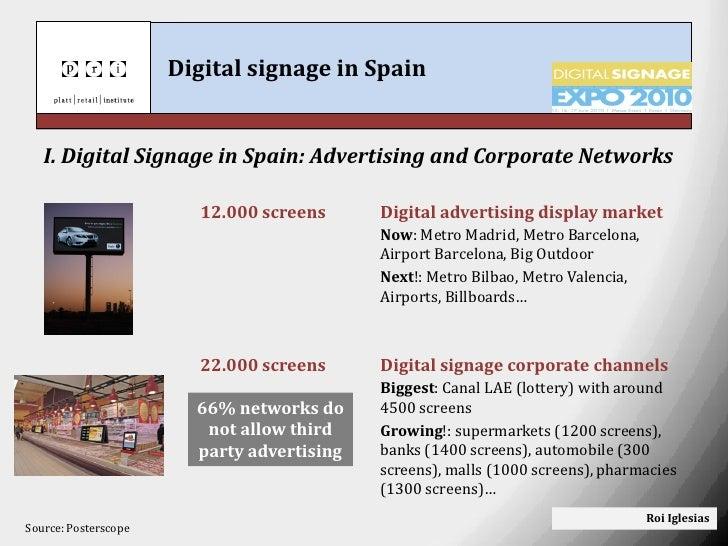 Digital signage in spain  Slide 3