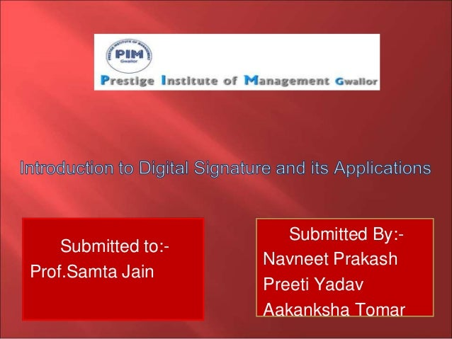 Submitted to:- Prof.Samta Jain Submitted By:- Navneet Prakash Preeti Yadav Aakanksha Tomar