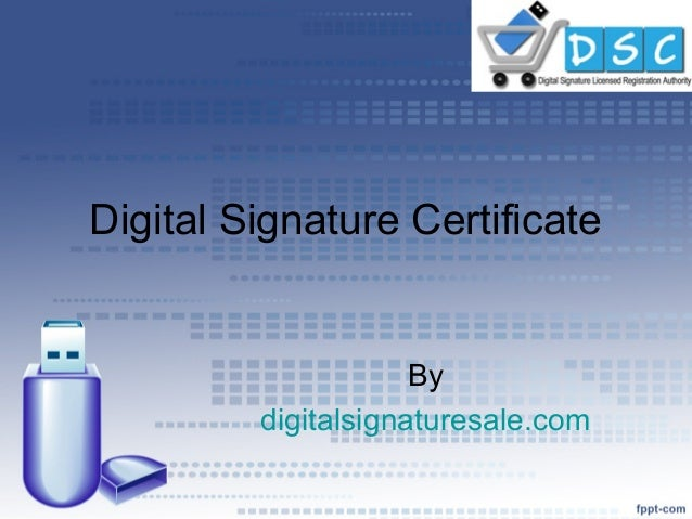 how to do digital signature on pdf