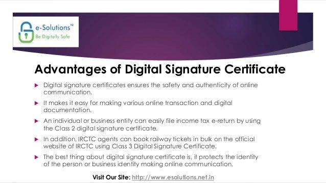 digital signature and digital certificate pdf