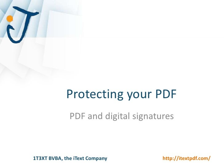 Digital Signatures<br />How to sign a PDF document?<br />