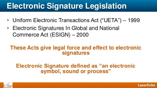 the uniform electronic transactions act Chapter 1306: uniform electronic transactions act 130601 definitions as used in sections 130601 to 130623 of the.