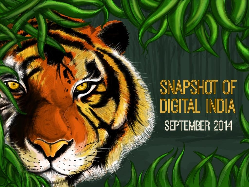 Snapshot of Digital India - September 2014
