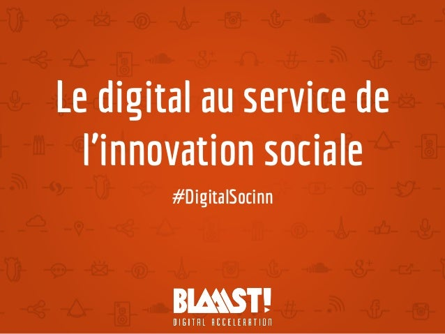 Le digital au service de l'innovation sociale #DigitalSocinn