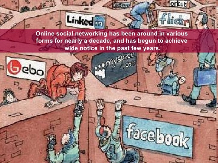 Online social networking has been around in various  forms for nearly a decade, and has begun to achieve  wide notice in t...