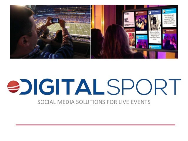 SOCIAL MEDIA SOLUTIONS FOR LIVE EVENTS
