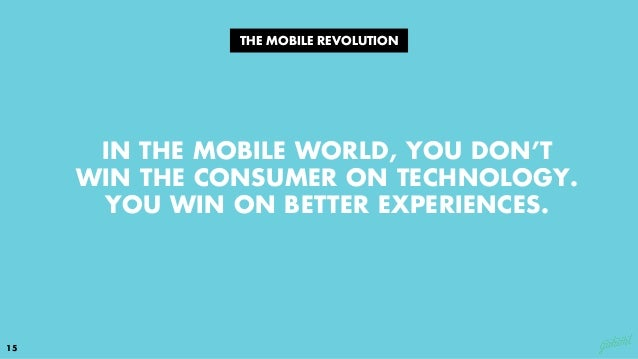 1616 DISRUPTION IS COMING FROM ALL SIDES, QUICKLY. 1 2 YOUR DIGITAL EXPERIENCE IS YOUR BRAND. 3 YOUR COMPETITION ISN'T WHO...