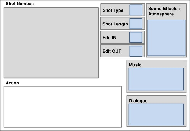 Digital Storyboard Template 2013 (Rename Me)