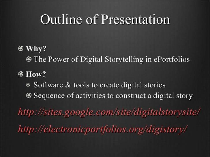 Digital Storytelling Slide 2
