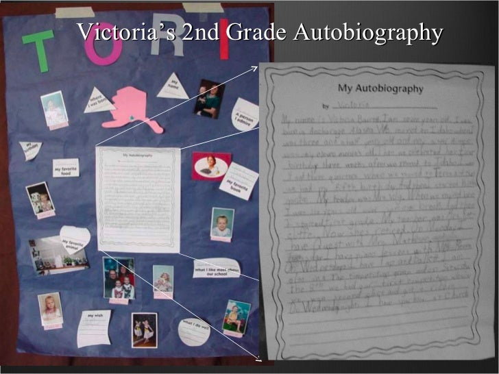 Victoria's 2nd Grade Autobiography