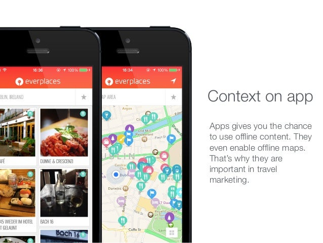 Apps gives you the chance to use offline content. They even enable offline maps. That's why they are important in travel mar...